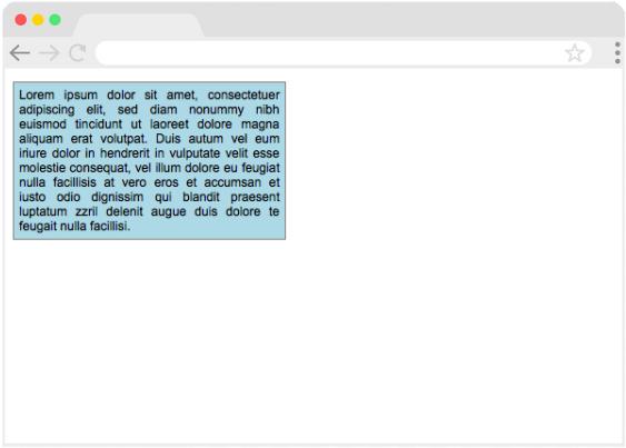 Tekstvak met CSS