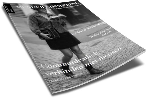 Het Meneer Simmering magazine met inspirerende interviews!