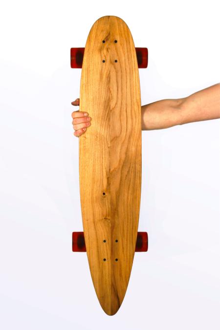 Woodys skateboard, longboard
