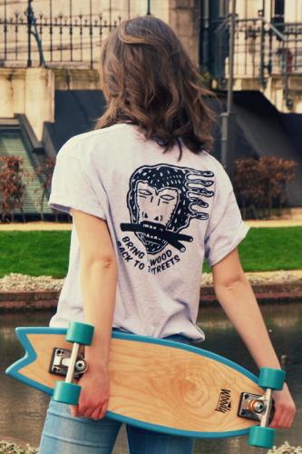 Woody skateboard shirt