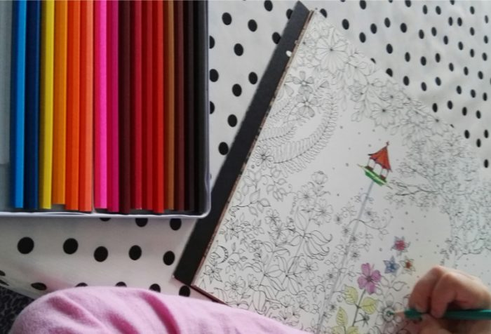 kleurboek, zoek je eigen stijl