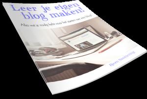 gratis eboek leer je eigen blog maken
