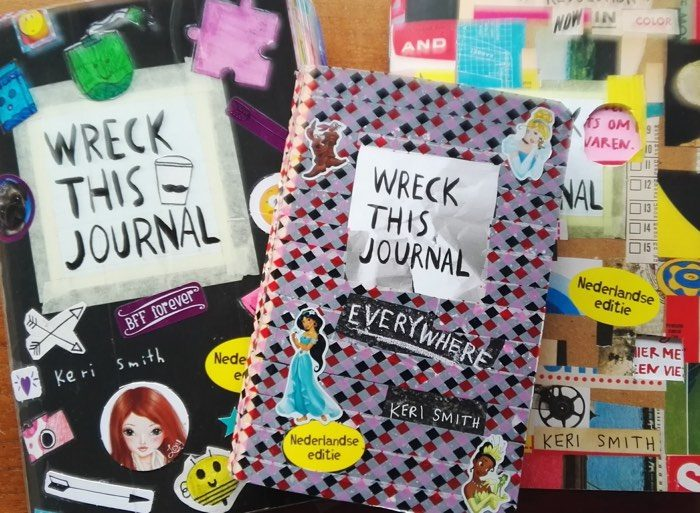 meerdere exemplaren wreck this journal