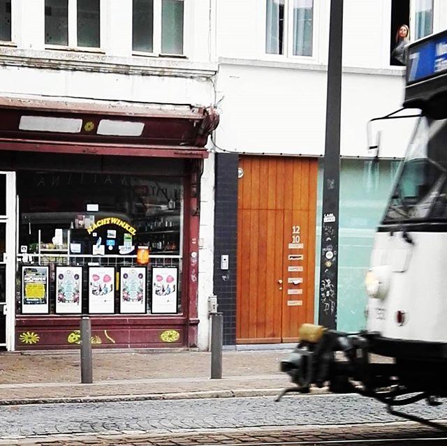cafe korsakov, tram Antwerpen