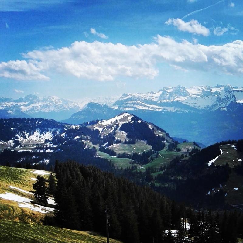 Op naar de Rigi Kulm, Queen of the mountains, Zwitserland