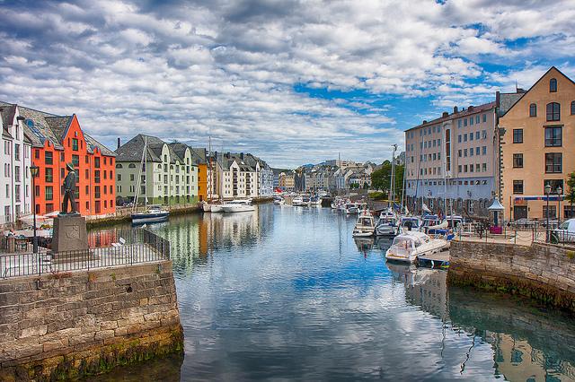 Alesund in Noorwegen