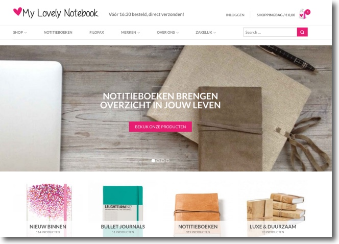 website My lovely notebook