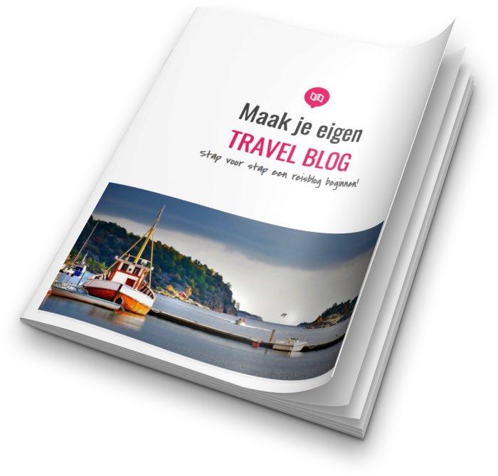 E-boek Je eigen travel blog maken!