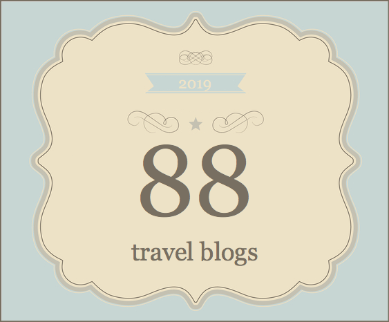 88 travel blogs 2019