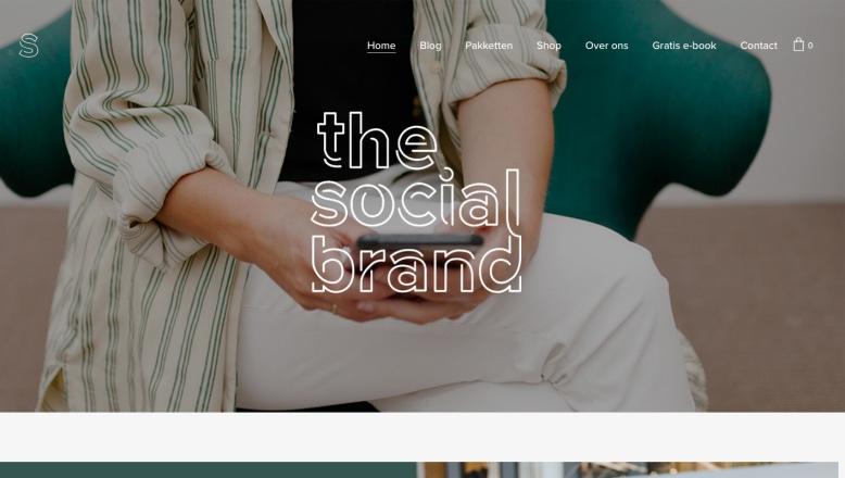website the social brand
