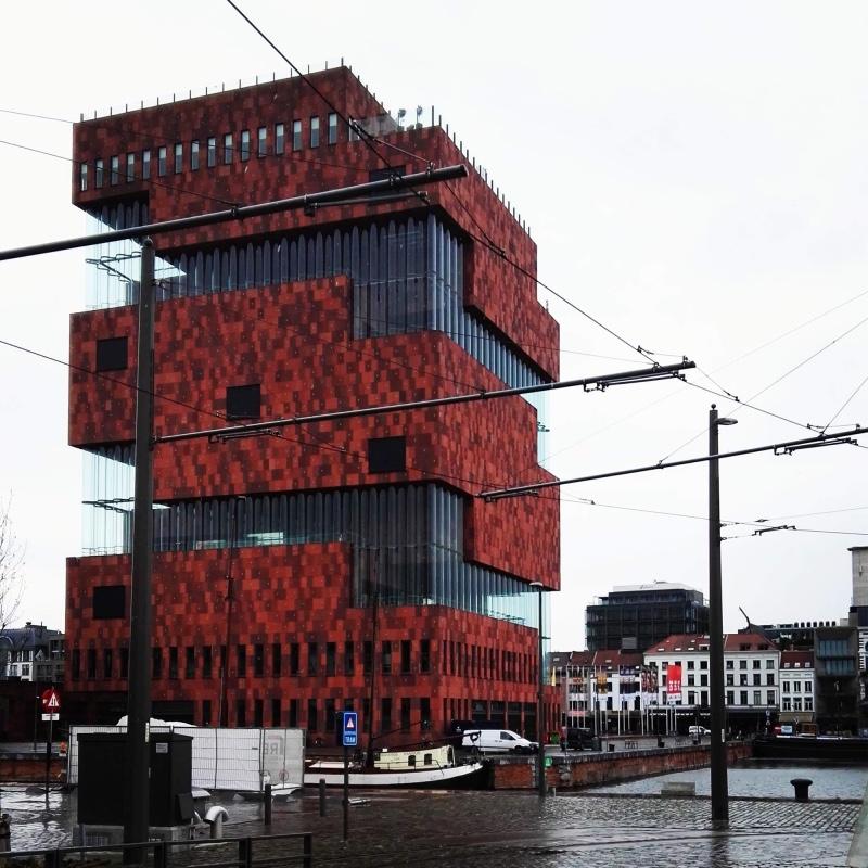museum aan de stroom MAS Antwerpen