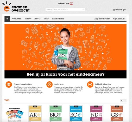 website examenoverzicht