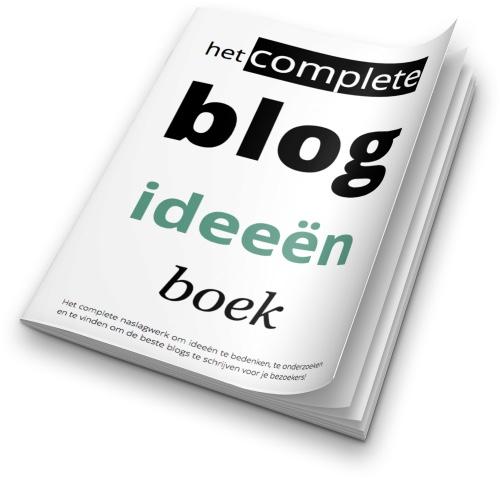 blog ideeen boek