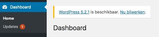WordPress bijwerken naar de laatste versie is altijd een goed idee!