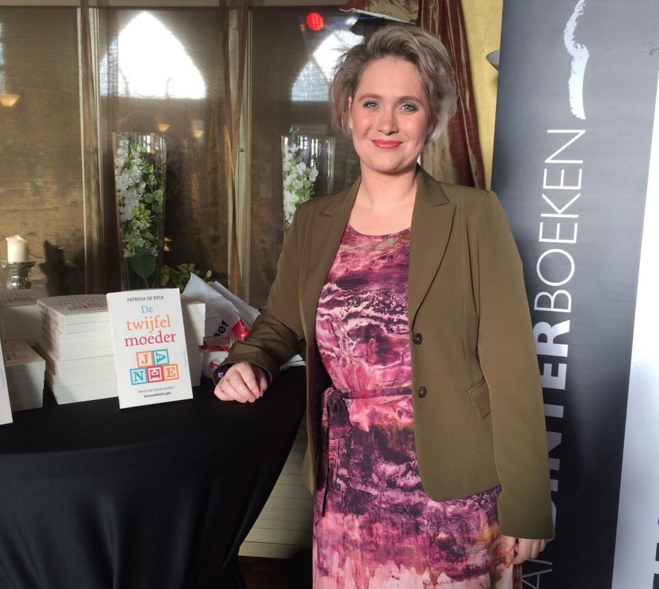 Patricia de Rijcke, boekpresentatie de twijfelmoeder