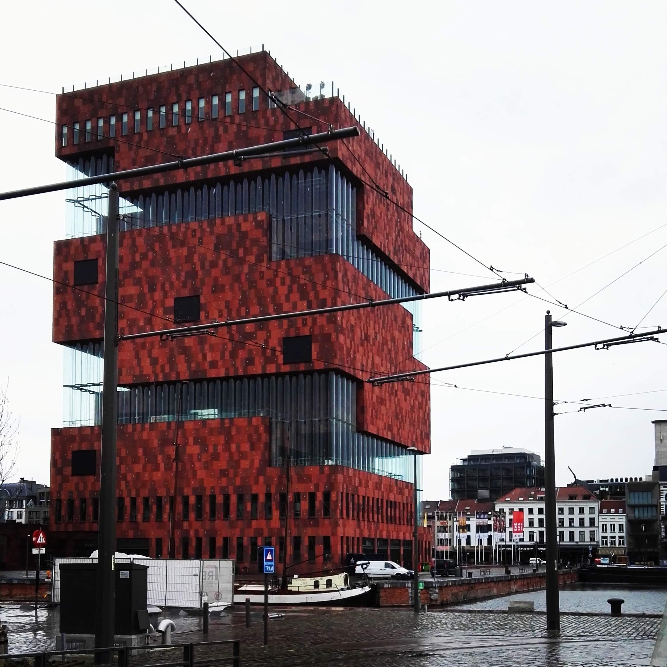 Het MAS, Antwerpen Museum aan de Stroom