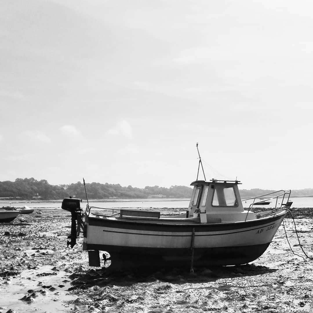 Port l'Epine Bretagne un bateau