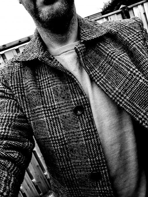 Een selfie met mijn nieuwe jas!