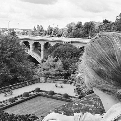 Uitzicht Luxemburg stad