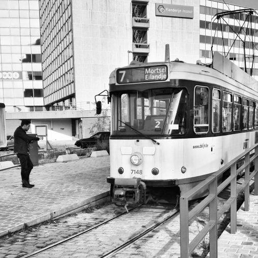 Tram 7 Antwerpen Eilandje