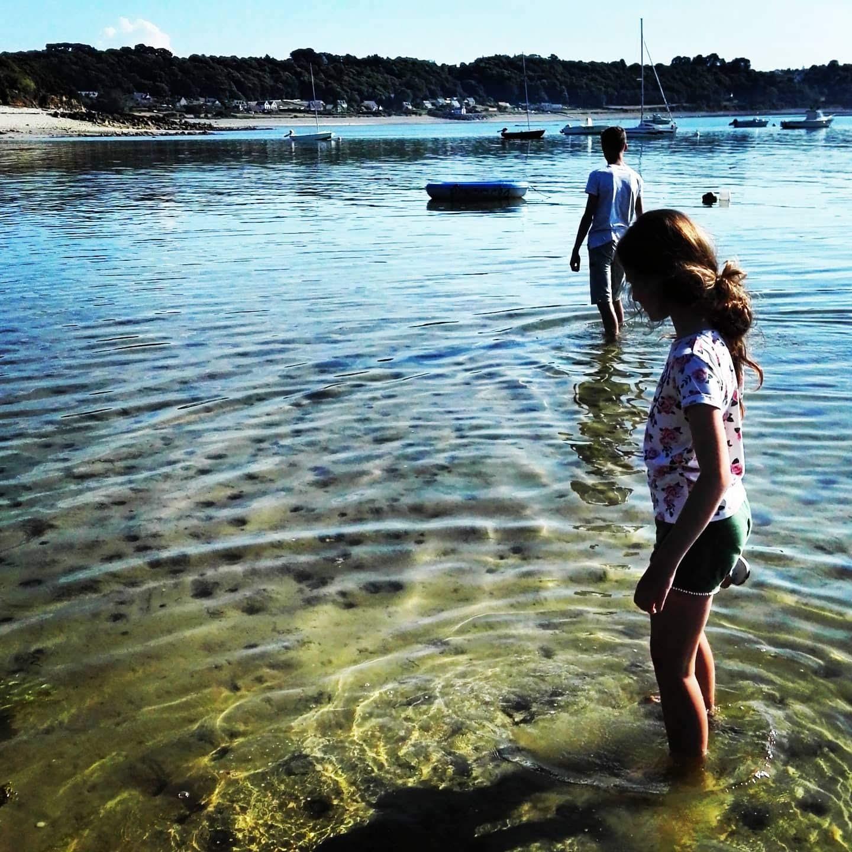 Bretagne, met je voeten in het water