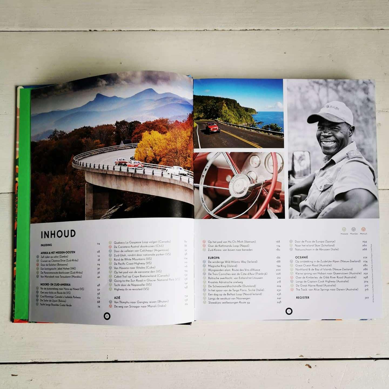 Lonely Planet, Mythische Autotochten - Uitgeverij Lannoo