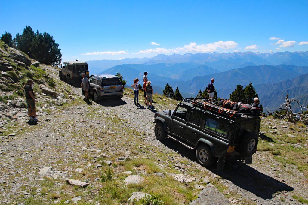 4x4 tocht in de Pyreneeën