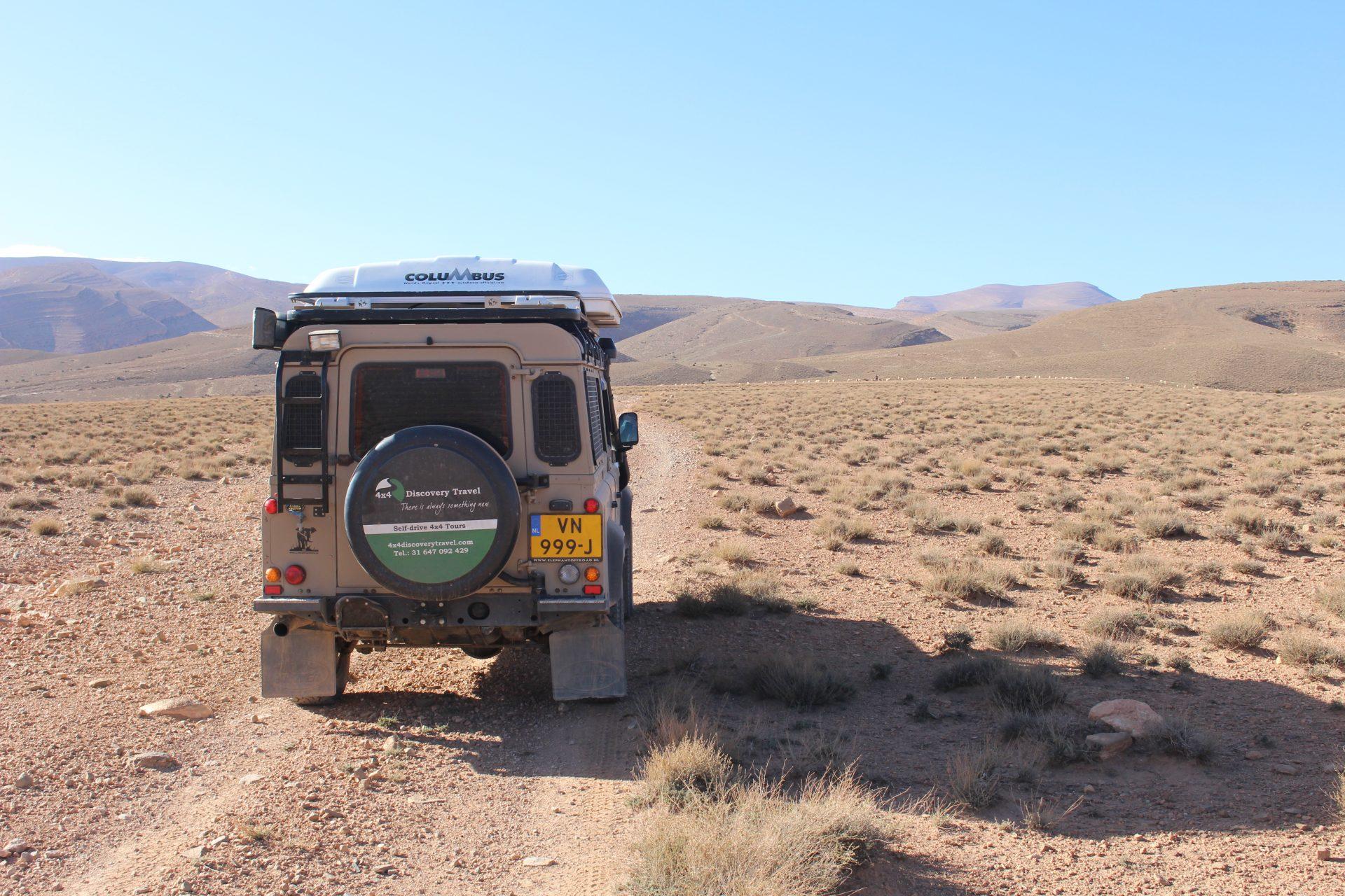 marokko 4x4 discovery Land rover