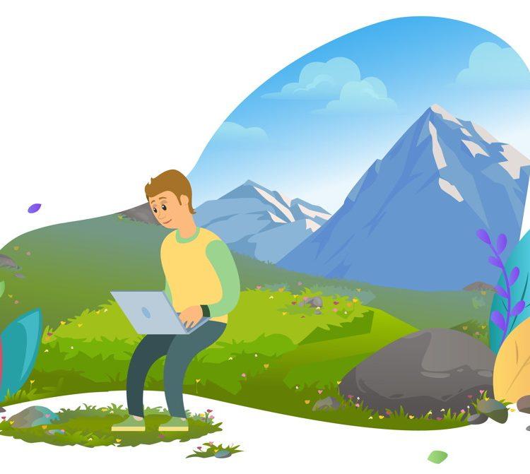 Gratis wandelblog maken met WordPress
