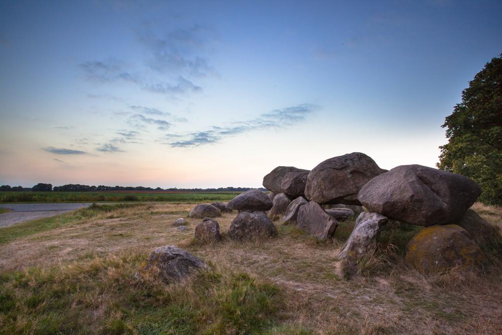 Hunebed wandelroute Drenthe Borger