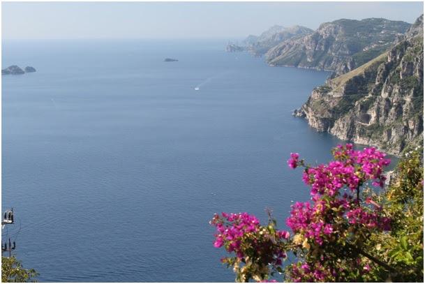 Amalfi kust, pad van de goden