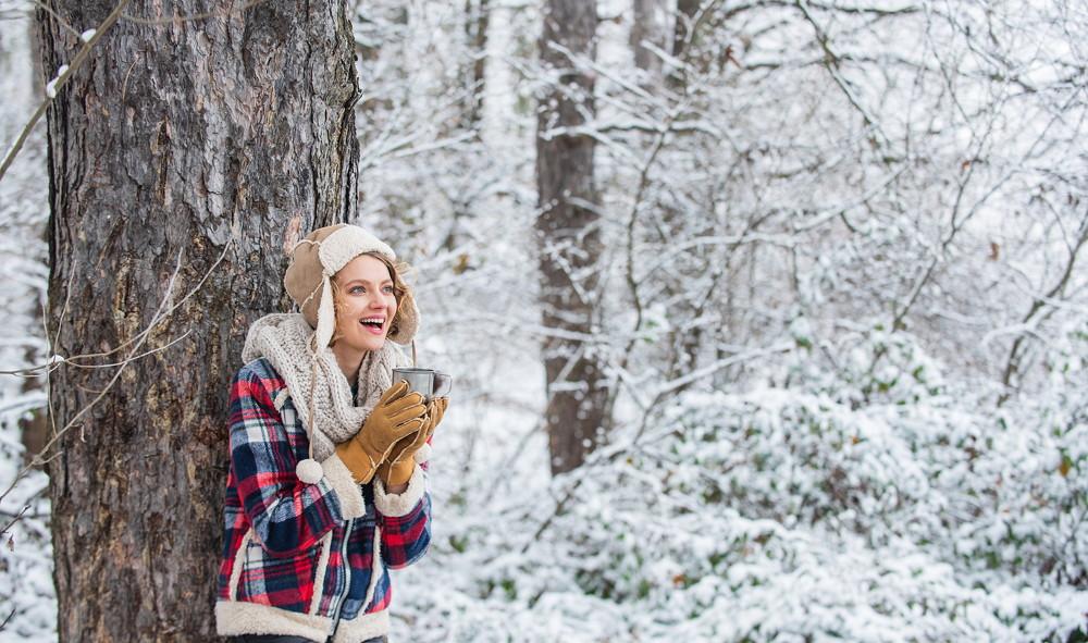 Een winter met sneeuw en wandelen