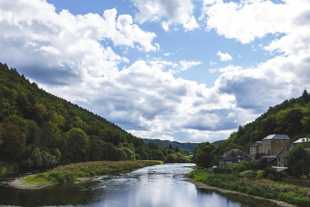 Wandelen en kamperen in de Ardennen