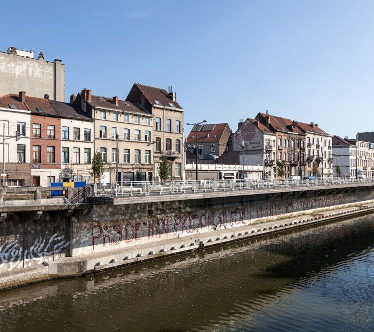 Wandelen in industriestad Charleroi