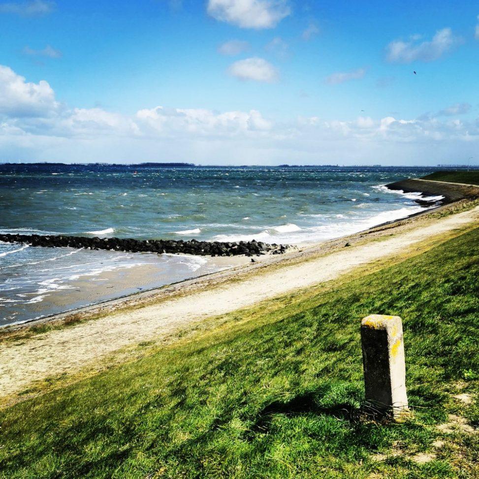De kracht van de wind, aan de kust