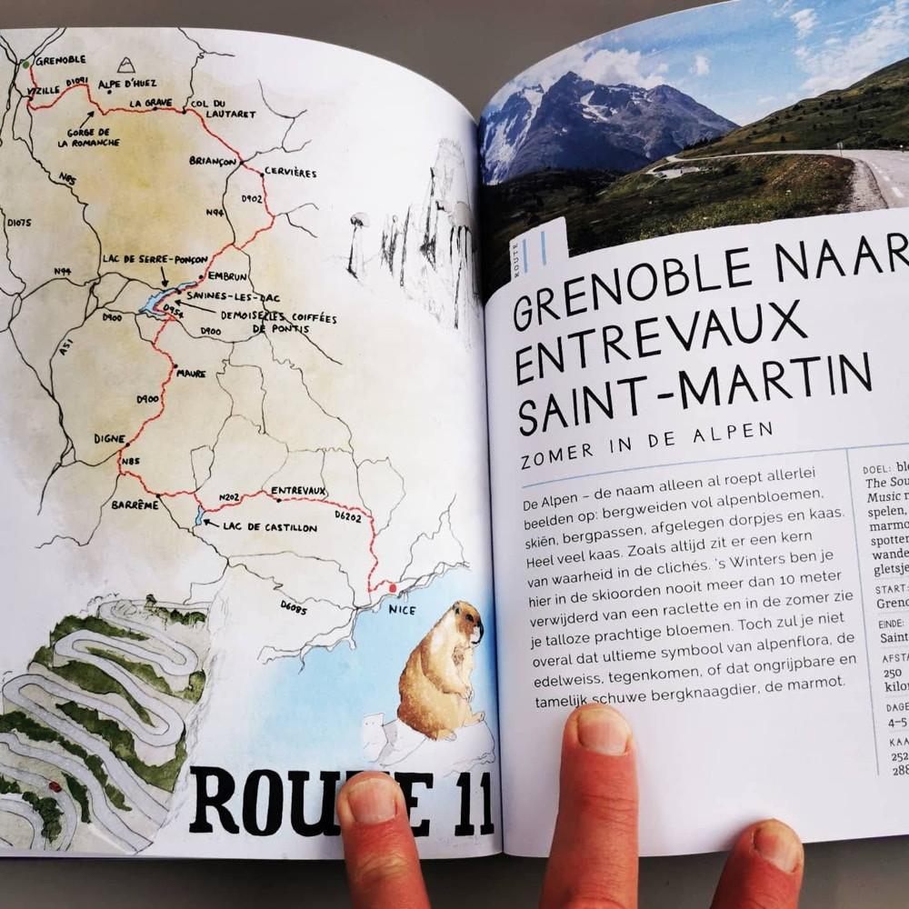 take the slow road Martin Dorey, Frankrijk