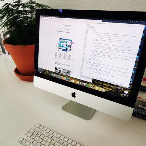 html code op een computer